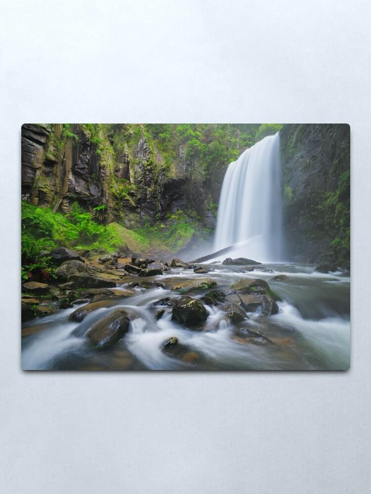 Alternate view of Hopetoun Falls, Otways, Great Ocean Road, Victoria, Australia Metal Print