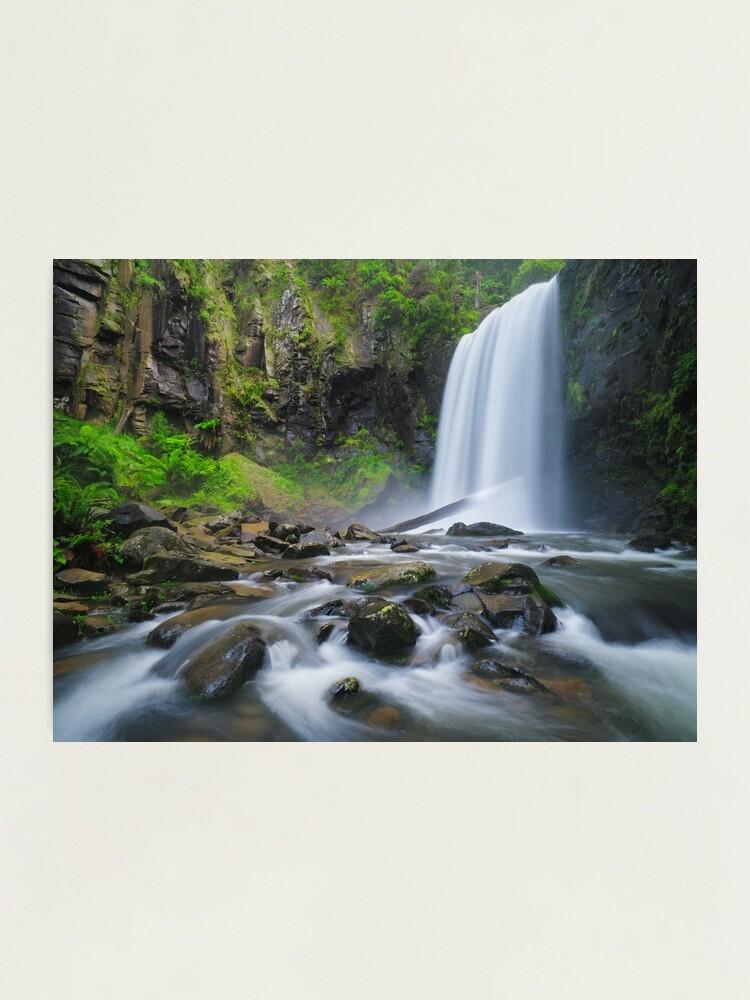 Alternate view of Hopetoun Falls, Otways, Great Ocean Road, Victoria, Australia Photographic Print