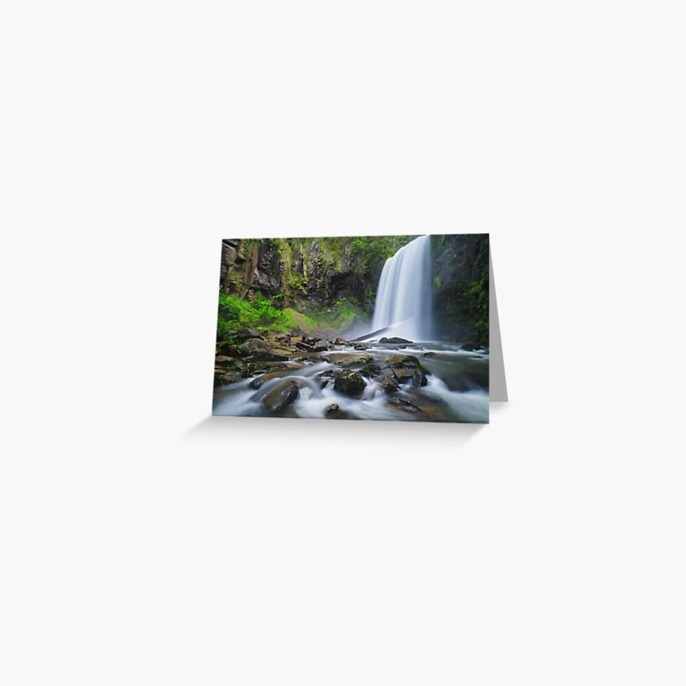 Hopetoun Falls, Otways, Great Ocean Road, Victoria, Australia Greeting Card