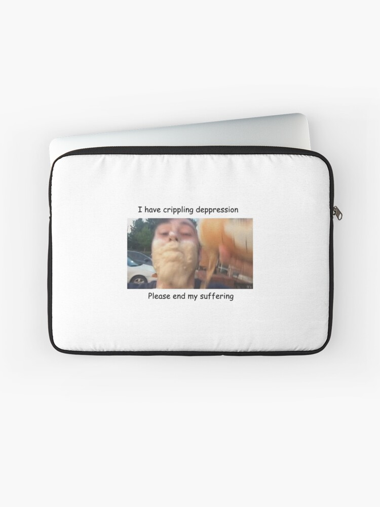 Surveillance Camera Artist Meme Laptop Sleeve By Shulktime Redbubble