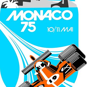 Monaco Grand Prix Poster by superleggera