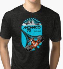 Monaco Grand Prix Poster Tri-blend T-Shirt