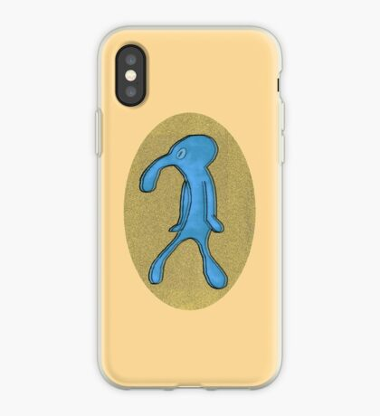 Squidward   Bold and Brash iPhone Case