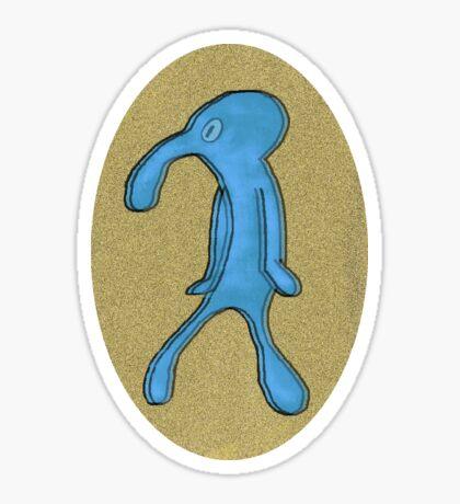 Squidward | Bold and Brash Sticker