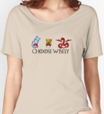 Choose Wisely Women's Relaxed Fit T-Shirt