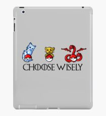 Choose Wisely iPad Case/Skin