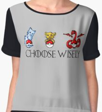 Choose Wisely Women's Chiffon Top