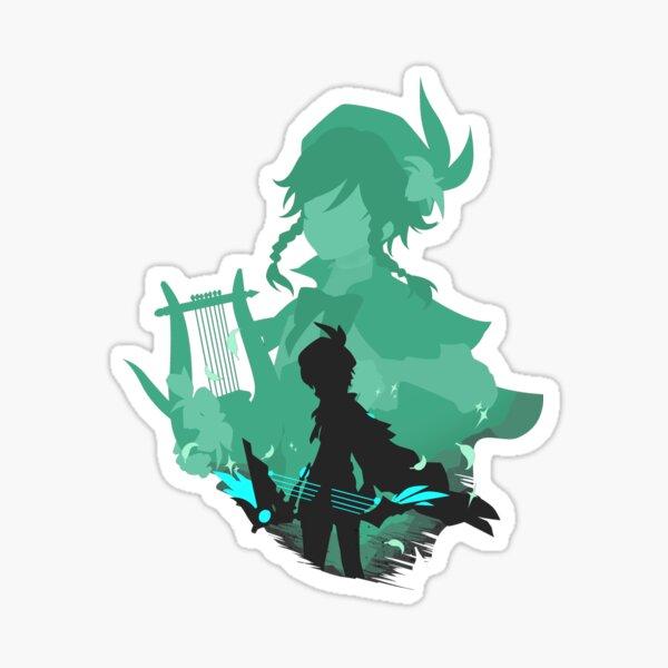 Venti Genshin Impact Glossy Sticker