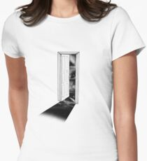 The Doorway to the Universe  Women's Fitted T-Shirt