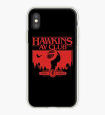 Hawkins AV Club iPhone Case