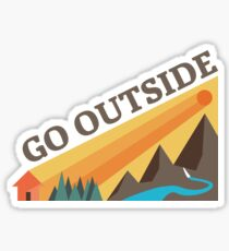Go Outside! Sticker