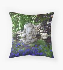 Ganesh Indian god Throw Pillow