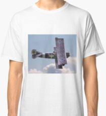 1917 Fokker D VII in Flight  Classic T-Shirt