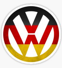 Volkswagen German Flag Sticker