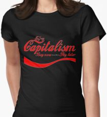 Capitalism - 'Buy Now, Pay Later' Women's Fitted T-Shirt