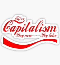 Capitalism - 'Buy Now, Pay Later' Sticker