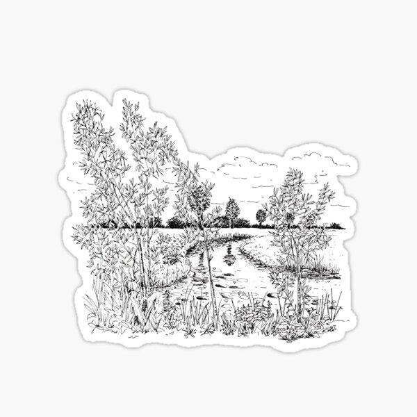 Waterside Sticker