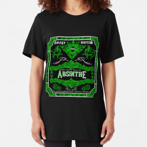 Imago Mortis Absinthe Slim Fit T-Shirt