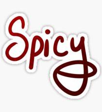 Spicy! Sticker