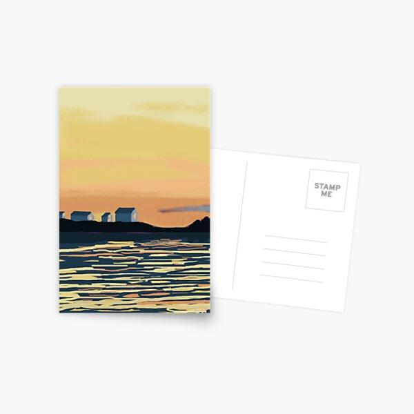 ALLEN AND BENNER DAYS END Postcard