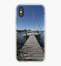 River mooring iPhone Case
