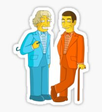 Dumb and Dumber - Simpsons Style! Sticker