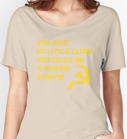So Classless Women's Relaxed Fit T-Shirt