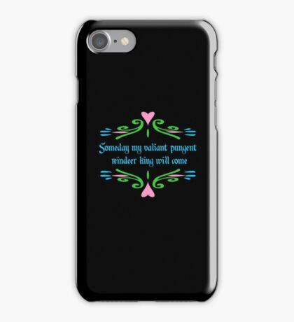 Valiant Pungent Reindeer King iPhone Case/Skin