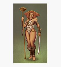 Teela redesign Photographic Print