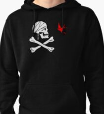 The Flag of Captain Jack Sparrow Pullover Hoodie