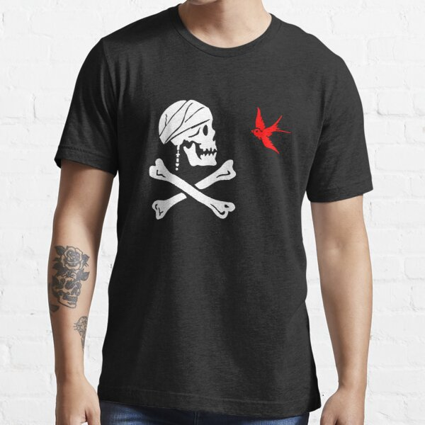 The Flag of Captain Jack Sparrow Essential T-Shirt