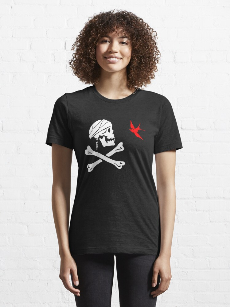 Alternate view of The Flag of Captain Jack Sparrow Essential T-Shirt