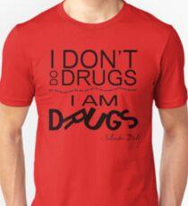 I Am Drugs Slim Fit T-Shirt