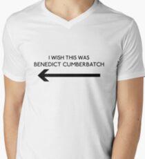 I Wish This Was Benedict Cumberbatch Men's V-Neck T-Shirt