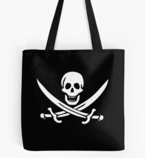 Flag of Calico Jack Rackham Tote Bag