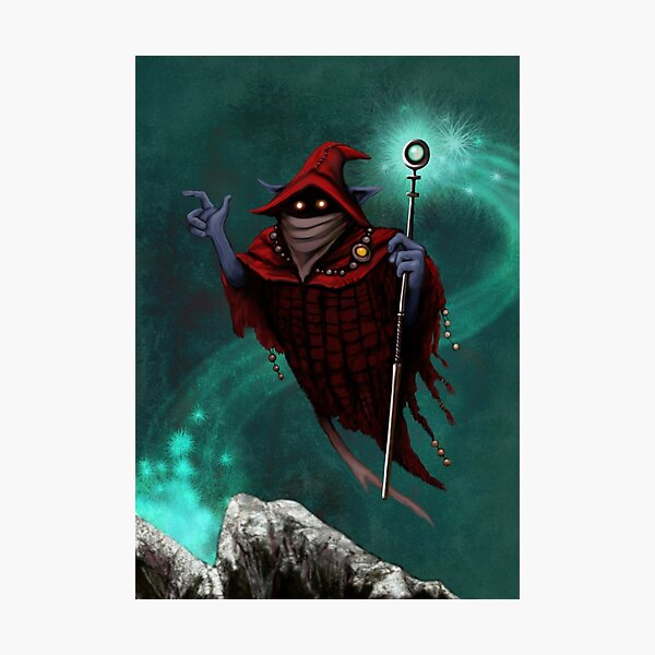 Orko from the Magic Land Photographic Print