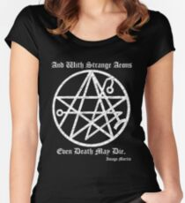 Necronomicon  Women's Fitted Scoop T-Shirt