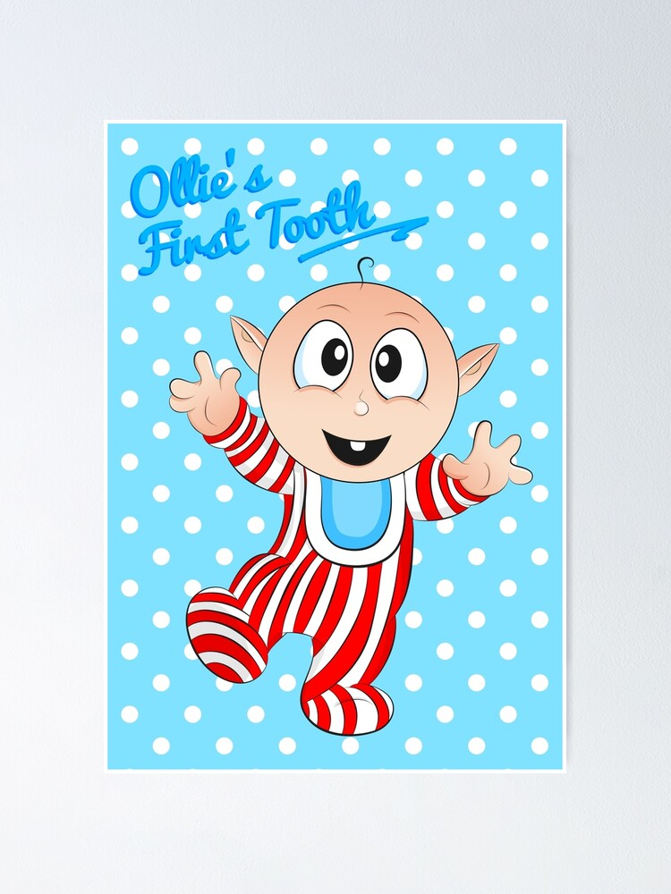 Alternate view of Baby Ollie's First Tooth Poster
