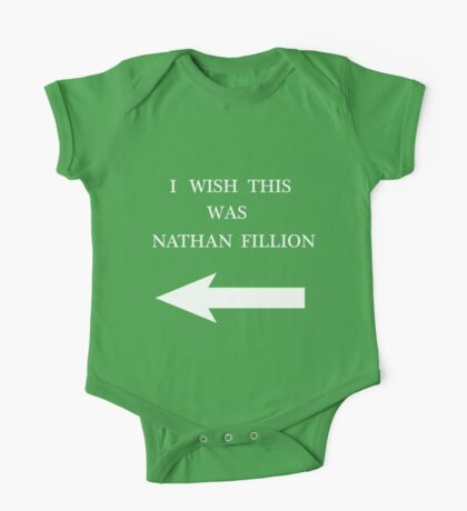 I Wish This Was Nathan Fillion Kids Clothes