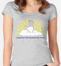 The Highest of Fives Women's Fitted Scoop T-Shirt