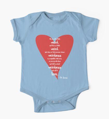 Love is Weird Kids Clothes