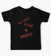 Hugs For Brains Kids Tee