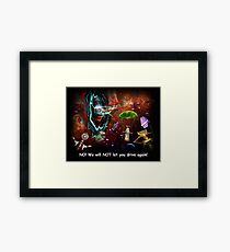 ~ There shoulda been a sign! ~ Framed Print