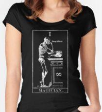 Magician Tarot I Women's Fitted Scoop T-Shirt