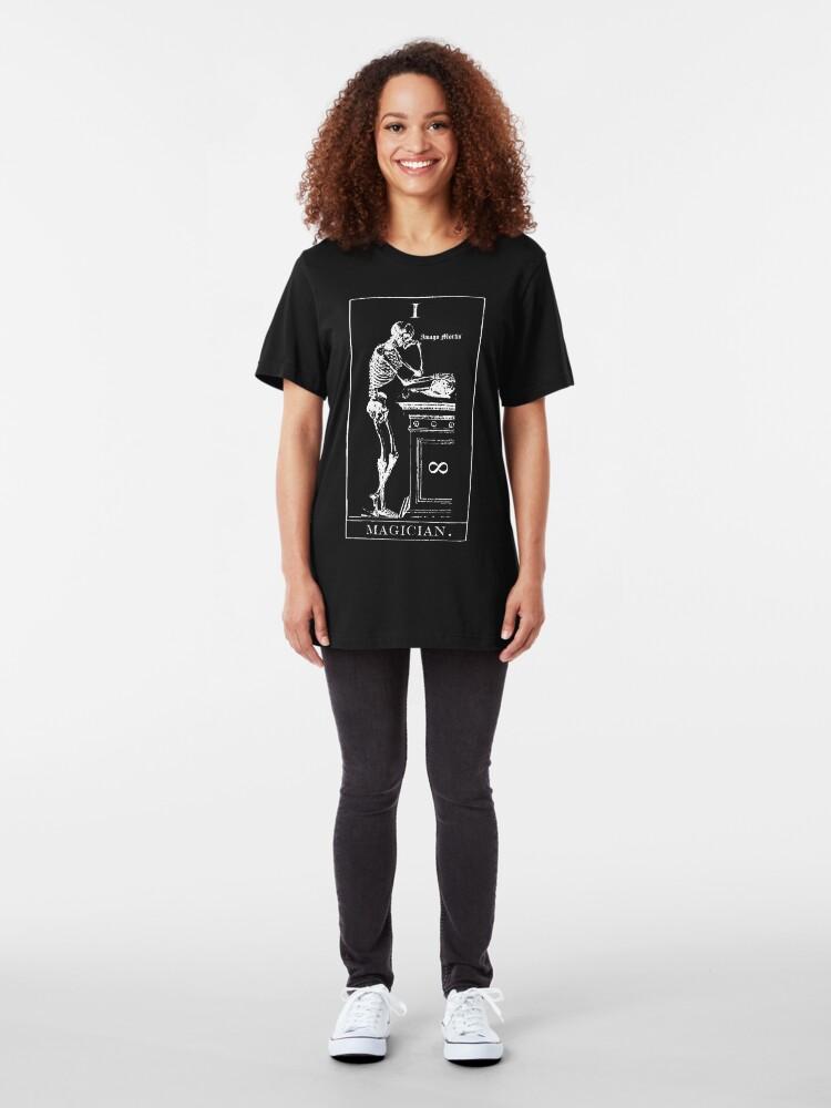 Alternate view of Magician Tarot I Slim Fit T-Shirt