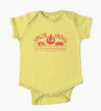 Uncle Iroh's Fine Tea Shop Baby Body Kurzarm