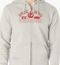 Uncle Iroh's Fine Tea Shop Zipped Hoodie