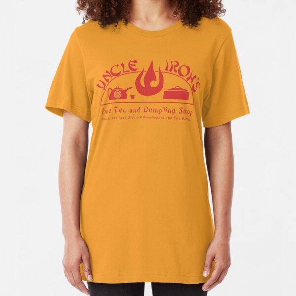 Uncle Iroh's Fine Tea Shop Slim Fit T-Shirt