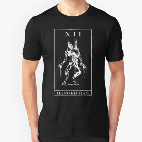 Hangman Tarot XII Slim Fit T-Shirt