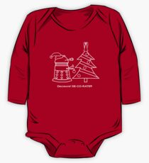 A Very Dalek Christmas - Dark One Piece - Long Sleeve